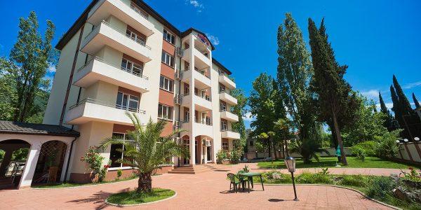 Отель АИБГА Гагра в Абхазии, официальный сайт
